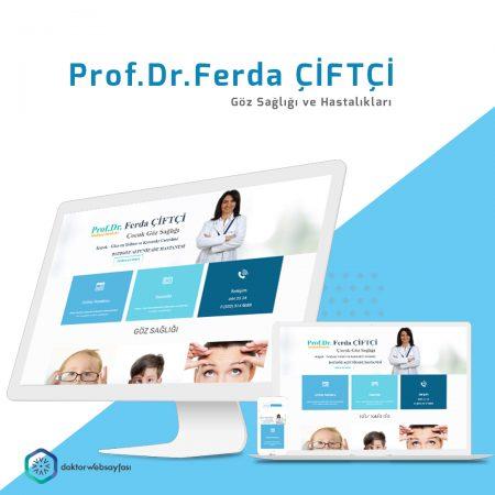 Prof.Dr.Ferda Çiftçi Web Sitesi
